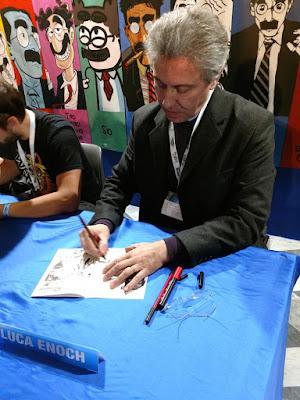 Notícias da Lucca Comic -  Itália