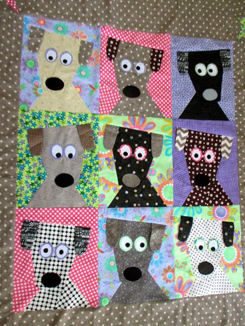 Dog Daze - Free Quilt Pattern