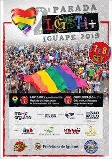 PARADA LGBTI+ DO VALE DO RIBEIRA EM IGUAPE