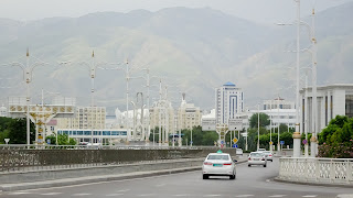 Not far from Ashgabat is Iran. Across the border is Mashad.