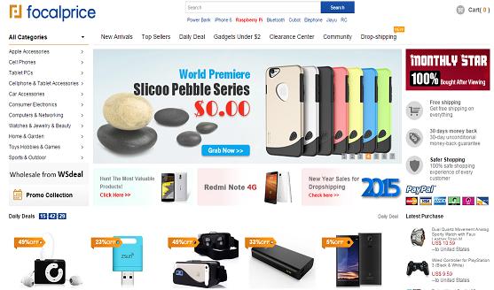 focalprice Shopping موقع شراء مجانا توصيل كيفية الحصول على الشحن