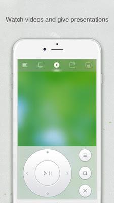 استخدام هاتفك ماوس ولوحة مفاتيح لجهاز الكمبيوتر: