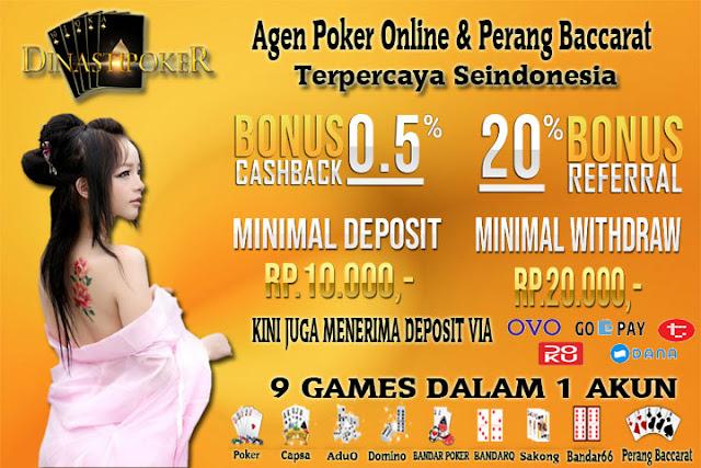 Langkah - Langkah Mendaftar Di Dinasti Poker Agen Poker Online Domino99 Terpercaya di Indonesia
