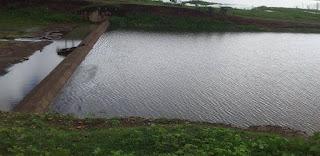 Barragem dos Corredores ganha volume de água e fica próxima de sangrar