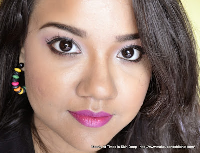 bright summer makeup tutoria for brown skin| Nivedita Kolkata Blogger