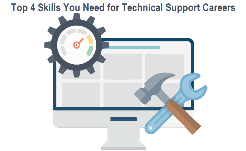 Top 4 Skills You Need for Technical Support Careers