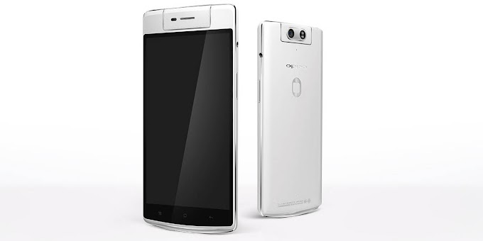 Oppo N3 officially announced with motorized swivel camera, multi-purpose fingerprint sensor, and lightning-fast charging
