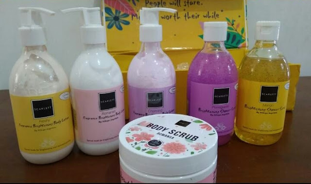 Produk body care scarlett whitening