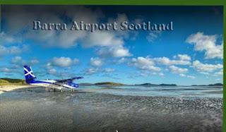 Barra Airport Scotland