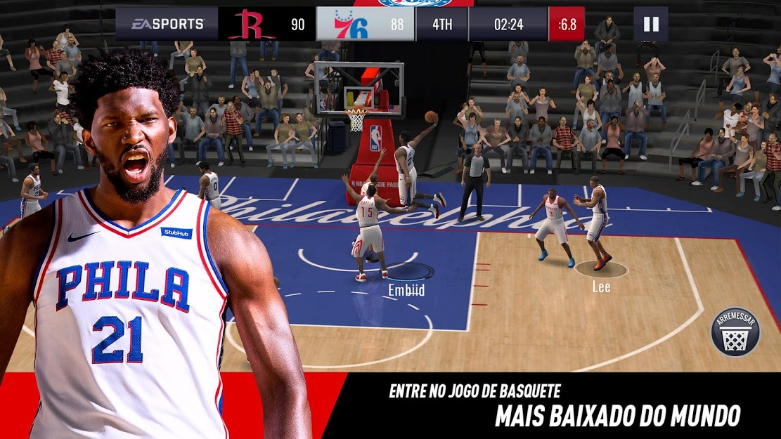 NBA LIVE Mobile Basquete v 4.4.30 apk