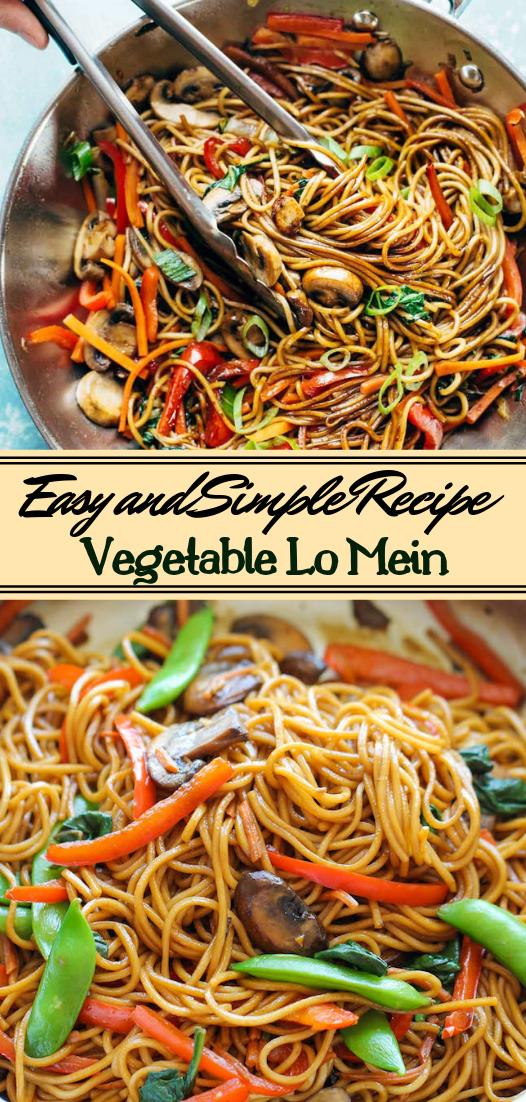 Vegetable Lo Mein #vegan #vegetarian #soup #breakfast #lunch