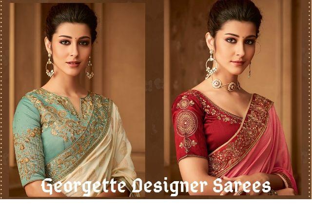 Georgette Designer Sarees