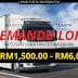Ratusan Jawatan Kosong Pemandu Lori Dibuka. Gaji Dari RM1,500.00 - RM6,000.00.