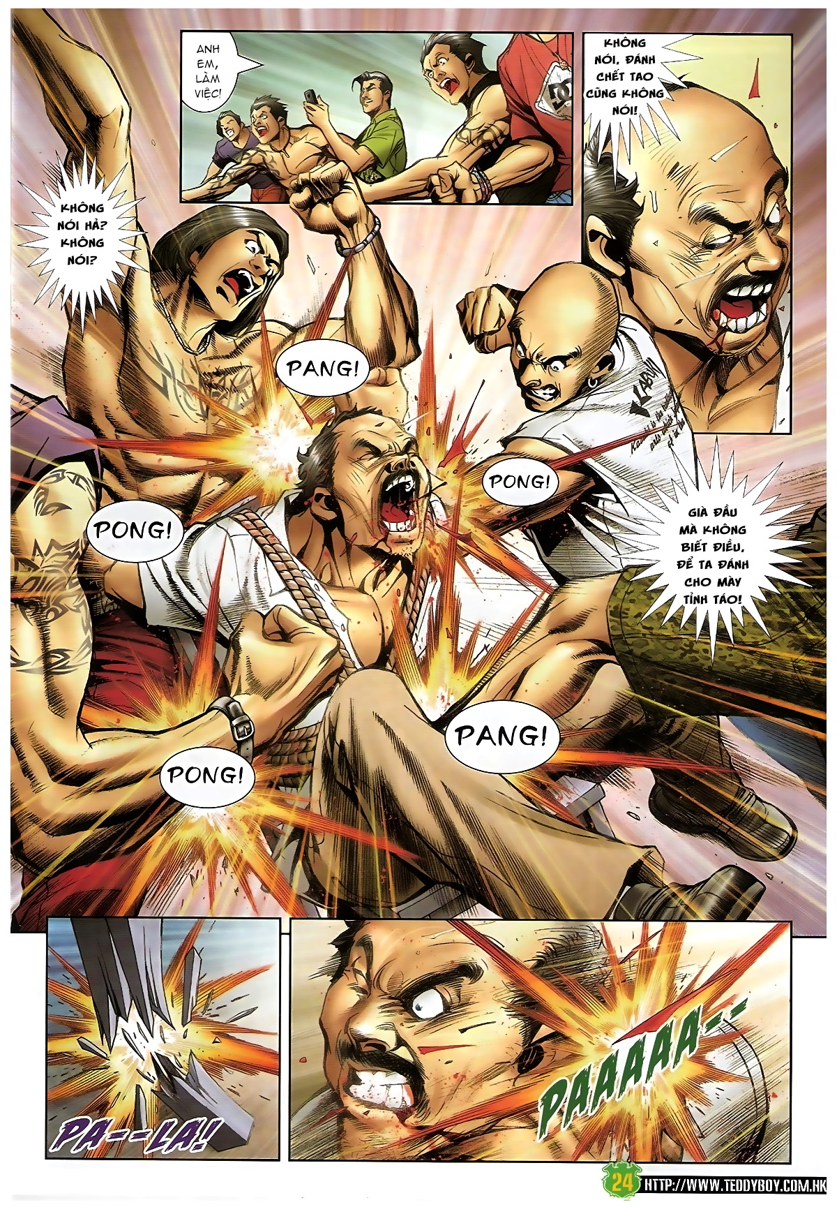 Người Trong Giang Hồ - Chapter 1397: Anh hùng cúi đầu - Pic 23