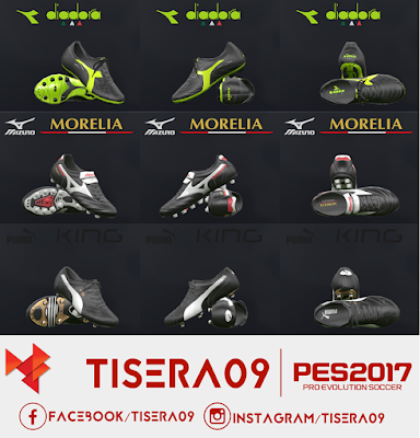 PES 2017 Classic Boots Pack Part 1 by Tisera09
