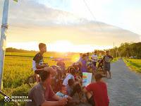 Senja di Wisata Gumuk Dempet Desa Rambipuji