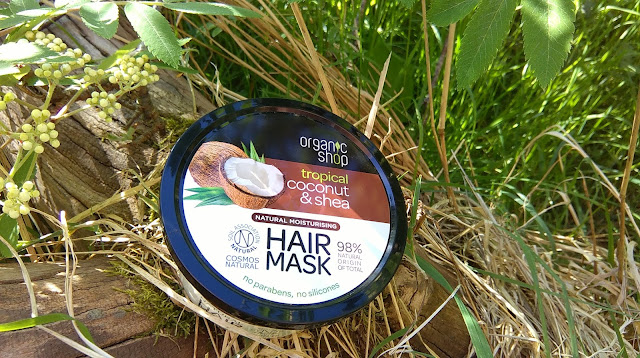 Organic Shop Coconut and Shea hair mask