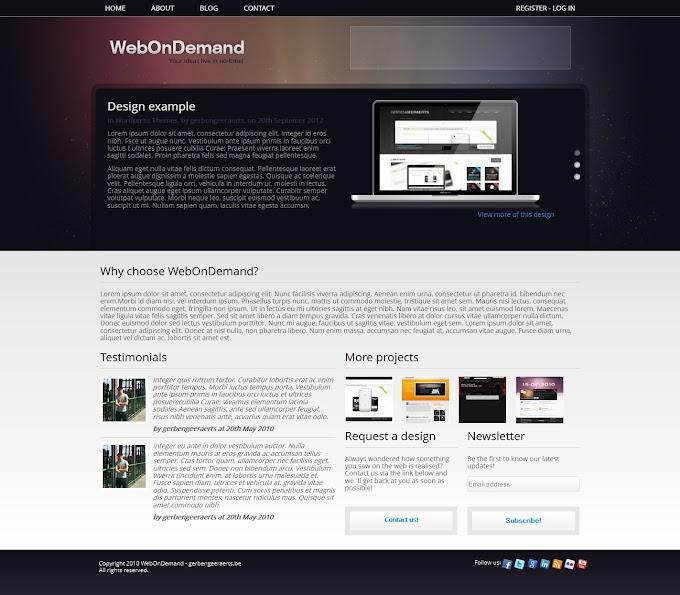webstudio website template