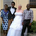 PHOTO: Another Nigerian Brother Weds His 'Old' White Cougar.....lol
