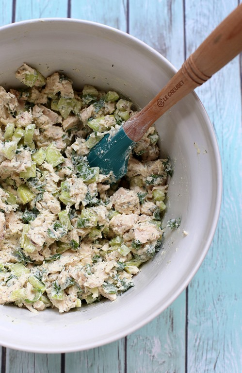 CUCUMBER DILL ROTISSERIE CHICKEN SALAD #salad #vegan #cucumber #dinner #lunch