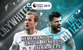 Prediksi Tottenham Hotspur vs Manchester City - Minggu 15 April 2018