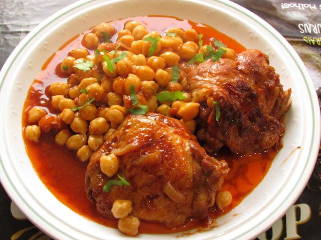 ciecierzyca z kurczakiem
