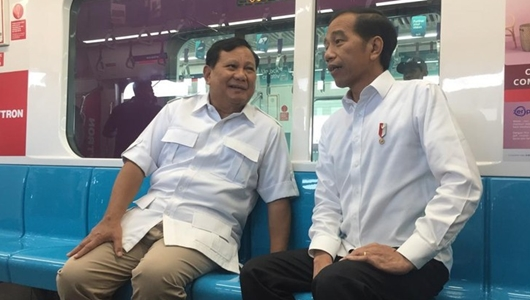 Prabowo: Pendukung Jokowi-Prabowo Harus Gandengan, Tak Ada Lagi Cebong-Kampret