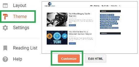 Remove Sidebars in Blogger