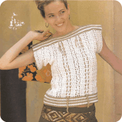Blusa a Crochet