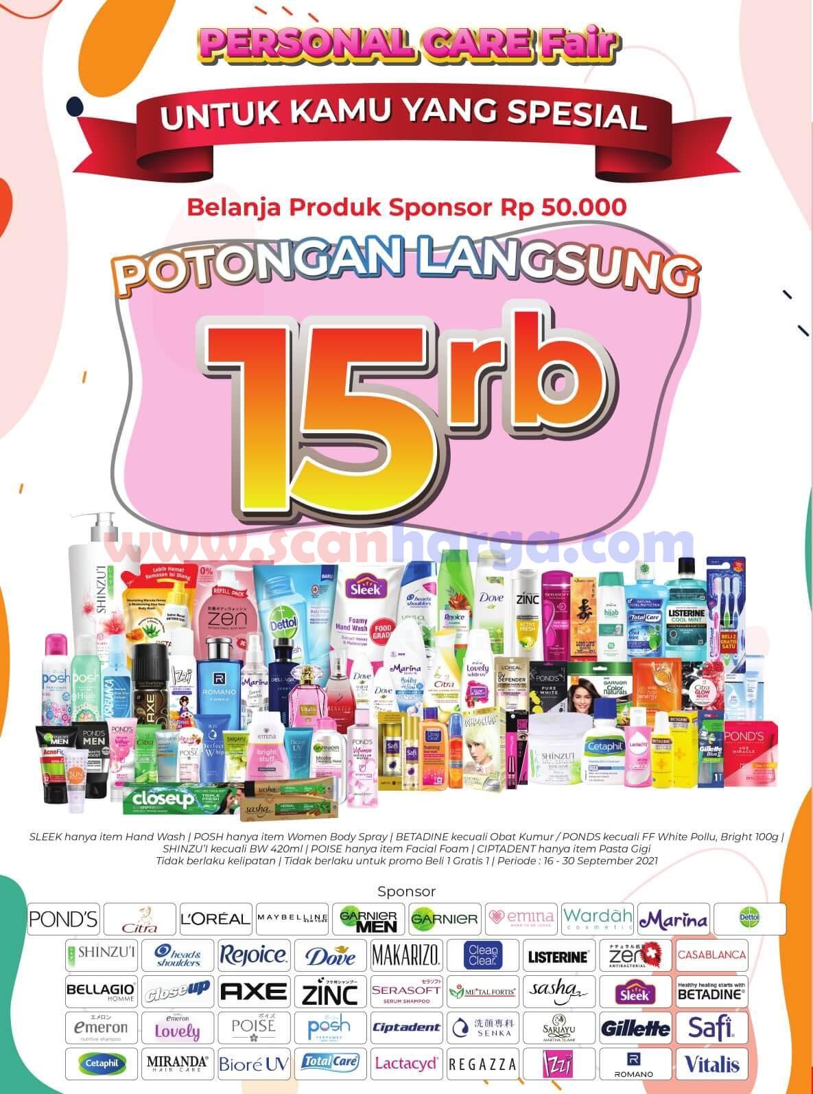 Katalog Promo Alfamart 16 - 30 September 2021 10