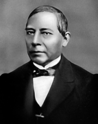 March commemoration of the birth of Benito Pablo Juarez Garcia