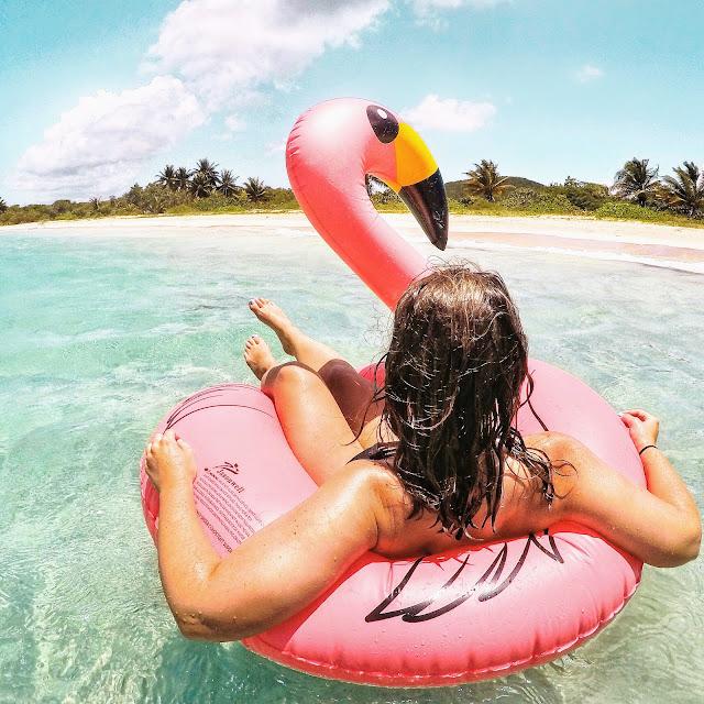 Vieques Beach Float - Kelsey Social