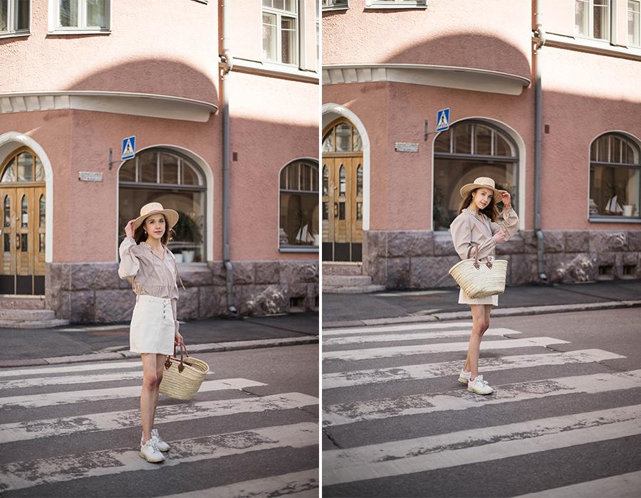 Tyylihaaste kesään: vaatekaapin täyden potentiaalin hyödyntäminen // Summer style challenge: utilising your wardrobe to its full potential