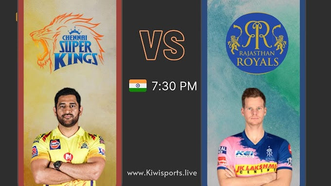 Cennai Super Kings vs Rajasthan Royals: Schedule & Live Stream | IPL