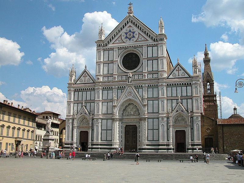 Thé au Jasmin: Fresques de la Basilique Santa Croce, Florence