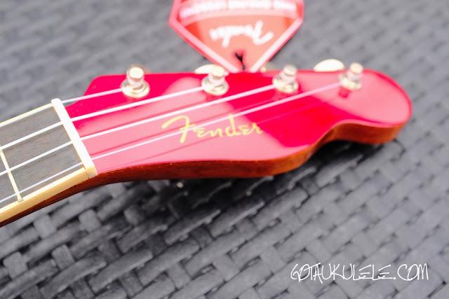 Fender Zuma Ukulele headstock