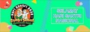 Desain Banner untuk Hari Santri Nasional Free Download CDR