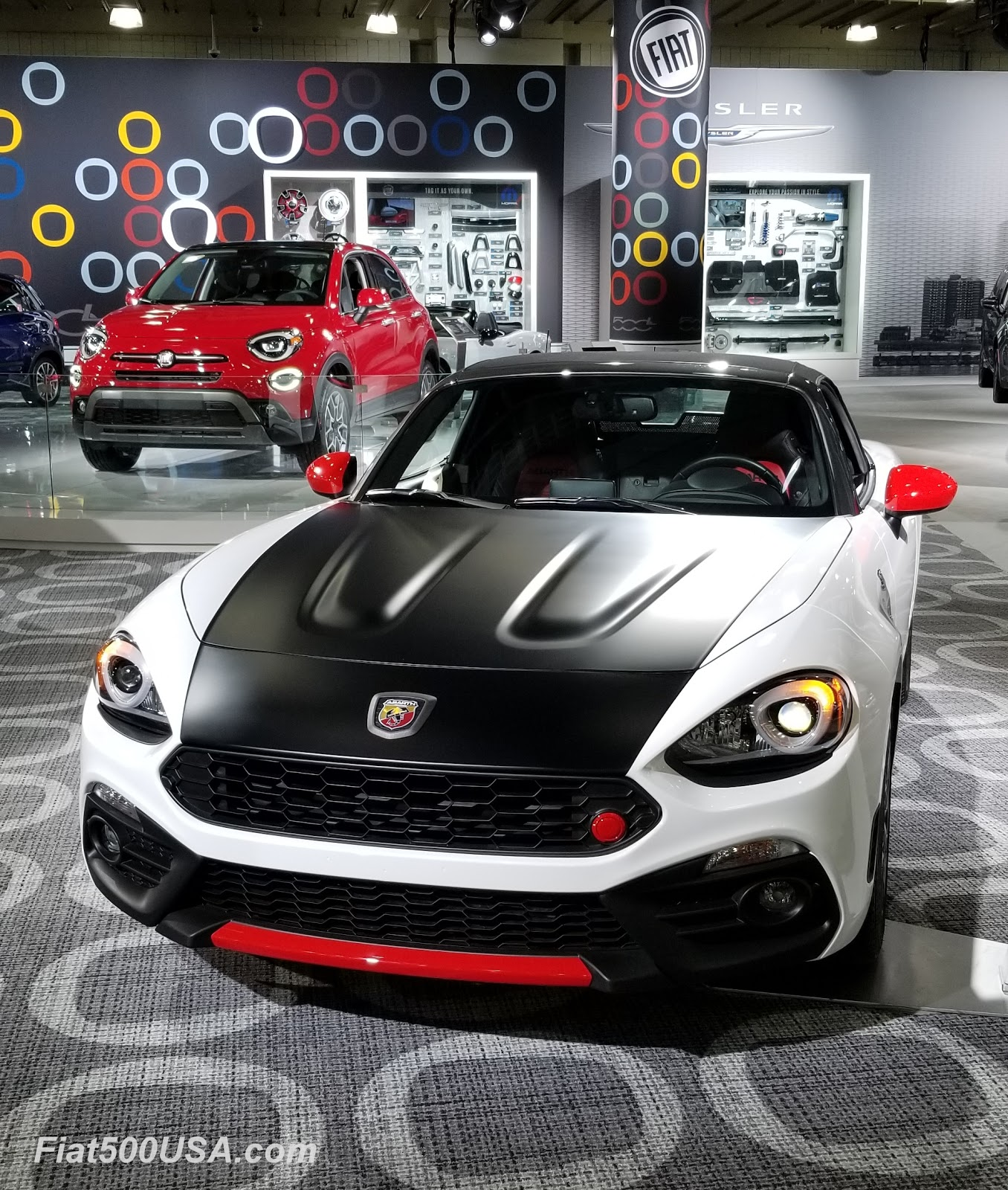 Fiat At The 2019 Ny Auto Show Fiat 500 Usa