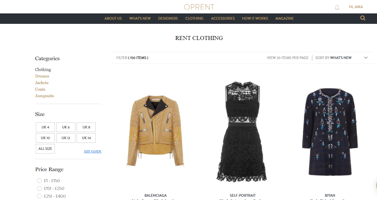 Rent Gown - Where to rent fashion in london