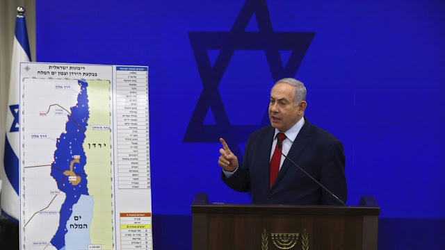 With Election Days Away, Netanyahu Publicly Announces Plan To Annex Jordan Valley