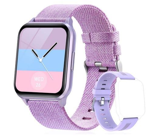 KeBuLe 1.69 DIY Face Fitness Tracker Smart Watch