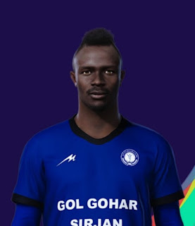 PES 2021 Faces Godwin Mensha by H.S