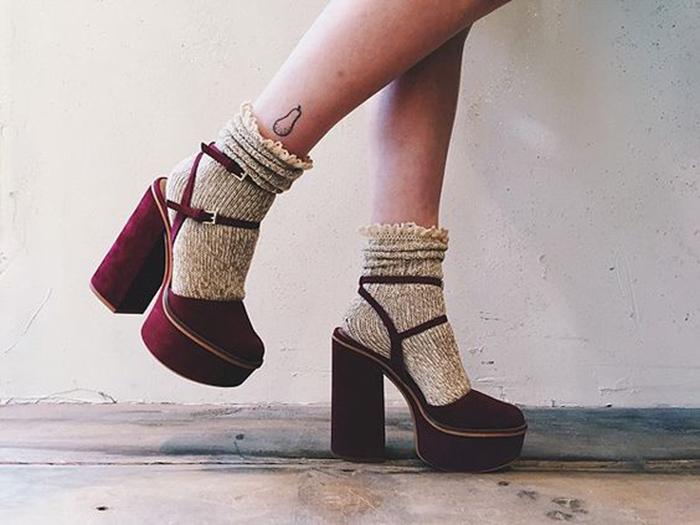 calzini con sandali