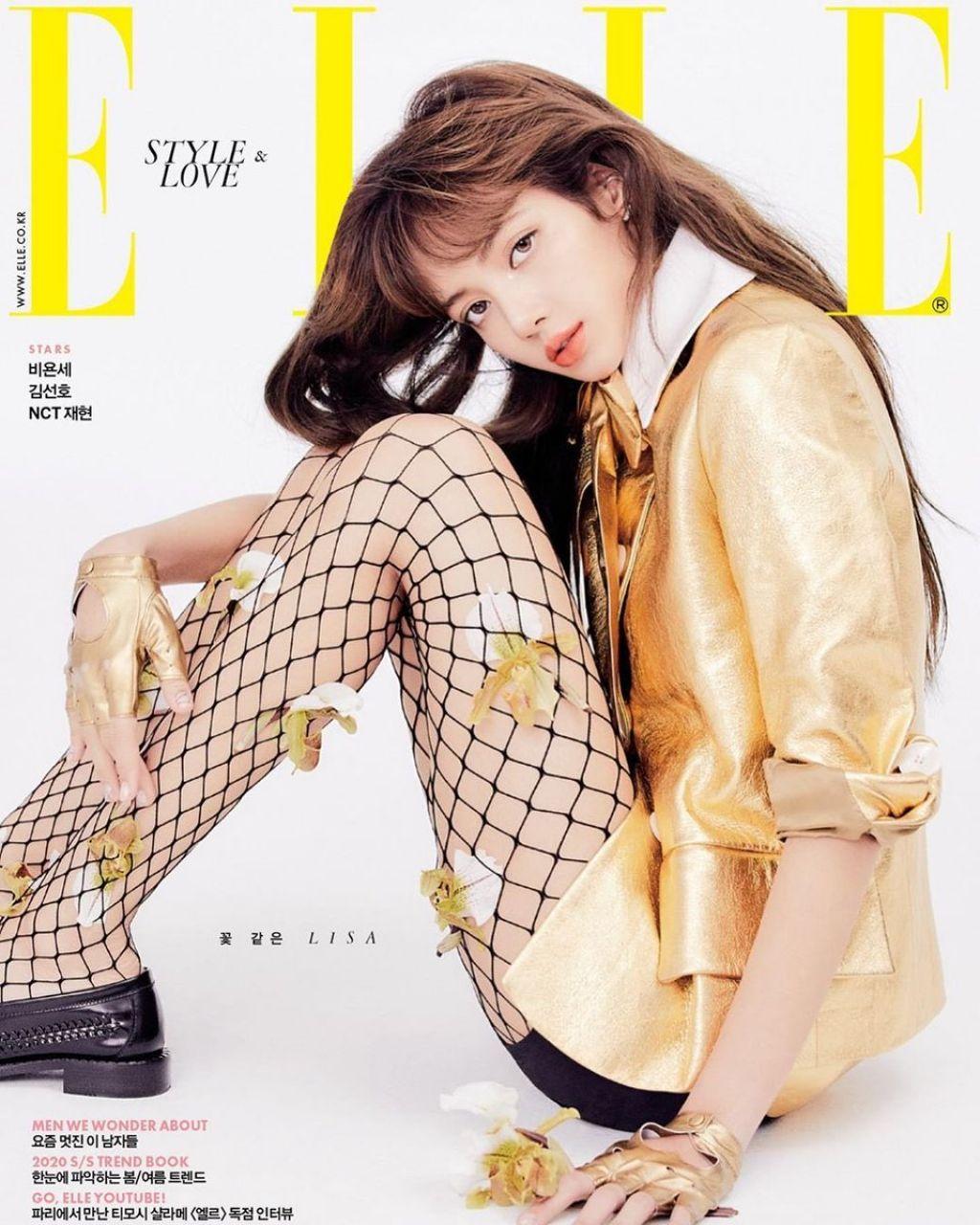 BLACKPINK Lisa Stars The New Cover of ELLE Korea Magazine February 2020 Issue