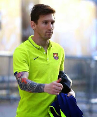 Lionel Messi 2015 HD wallpaper
