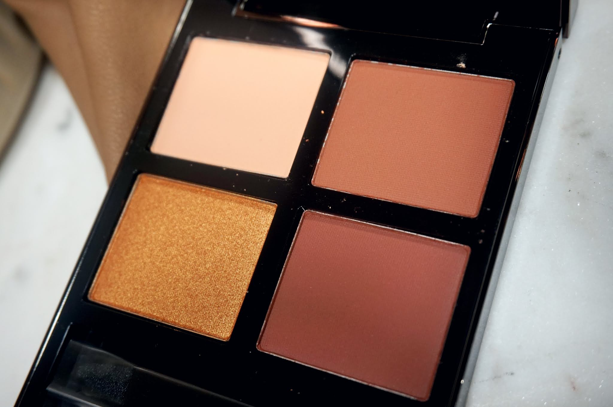 Tom Ford Desert Fox Eye Color Quad Review and Swatches