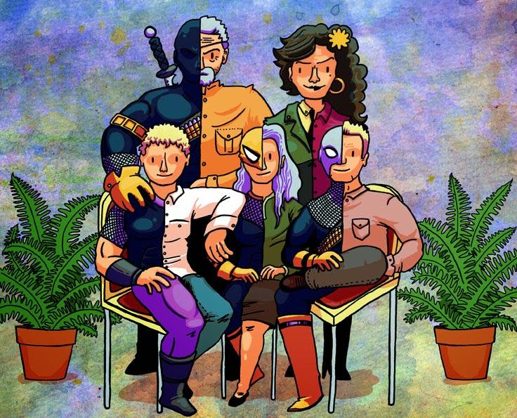Lloyd Jones Illustration: Tumblr Commissions