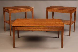 Fine Furniture Coffee Table and End Table