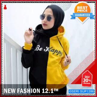 SUP1286S15 Swaeter Be Happy Wanita Murah BMGShop