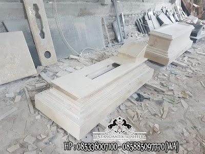 Model Makam Batu Marmer | Kijing Makam Marmer Terbaru